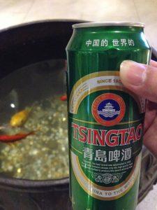เบียร์ชิงเต่า ปิดท้ายวันแรกในจีน