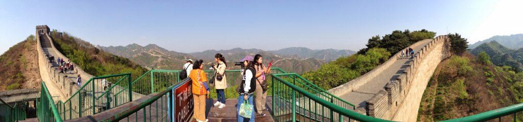 จุดเริ่มต้นการเดินบนกำแพงเมืองจีน